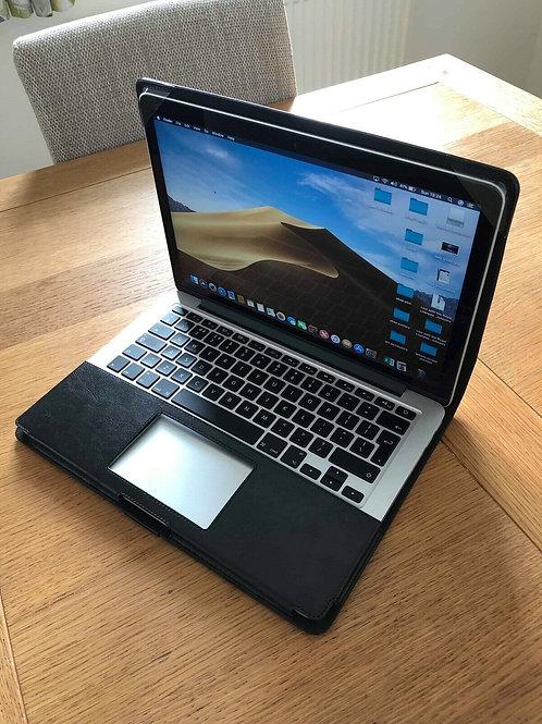 Premium Black Leather Case Cover for Apple Macbook Pro 13'' A1502 RETINA