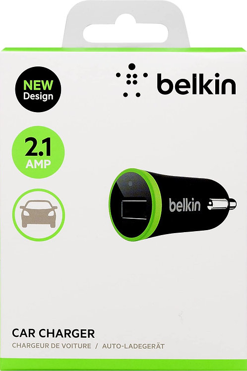 Belkin 2.1 Amp Single CLA Micro Universal Car Charger for all Smartphones Tablet