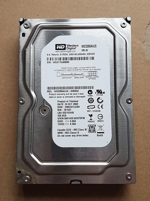 """320GB SATA 3.5"""" HDD (Various Models)"""