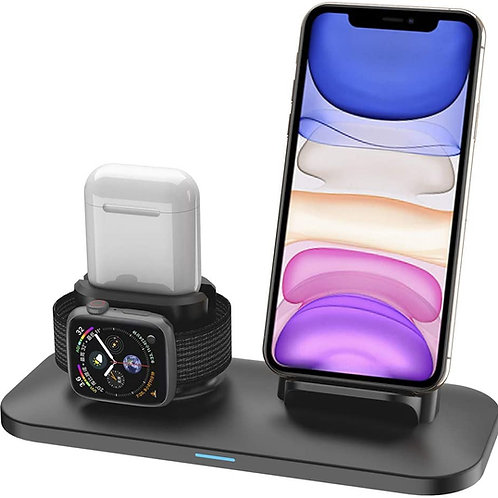 Wireless Charger, 3 in 1 Wireless Charging Stand