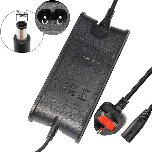 19.5V 3.34A AC Adapter Laptop Charger for Dell Inspiron