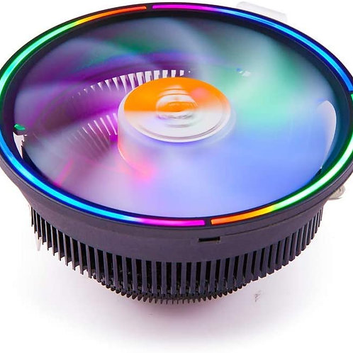 Heatsink & Fan Low Noise CPU Air Cooling Cooler RGB Fan Radiator For INTEL & AMD