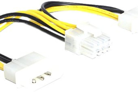 Molex to 8 Pin PCIe Adapter