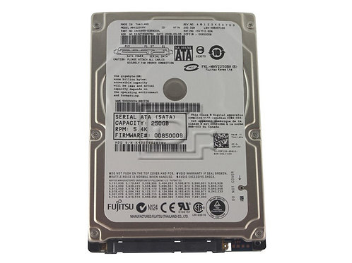 "250GB SATA 2.5"" HDD (Various Makes & Models)"