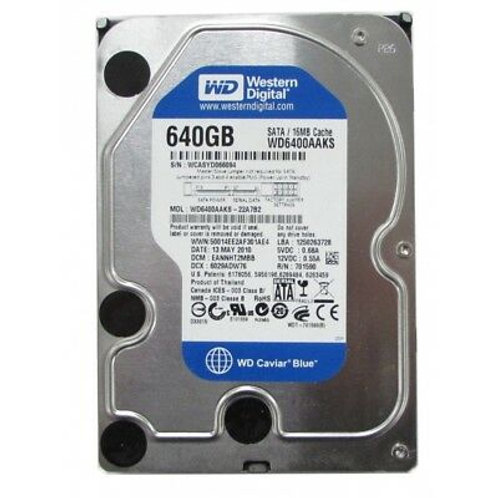 "640GB SATA 3.5"" HDD (Various Models)"