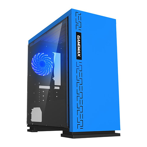 Gamemax Expedition (mATX) (Blue) PC Case