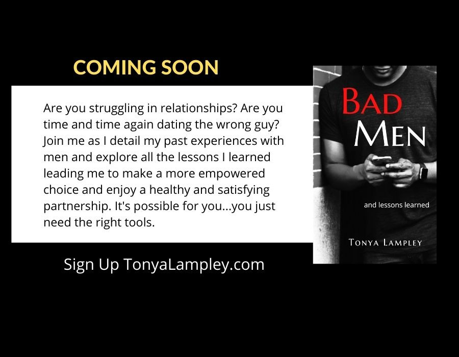 Book Cover for Bad Men by Tonya Lampley