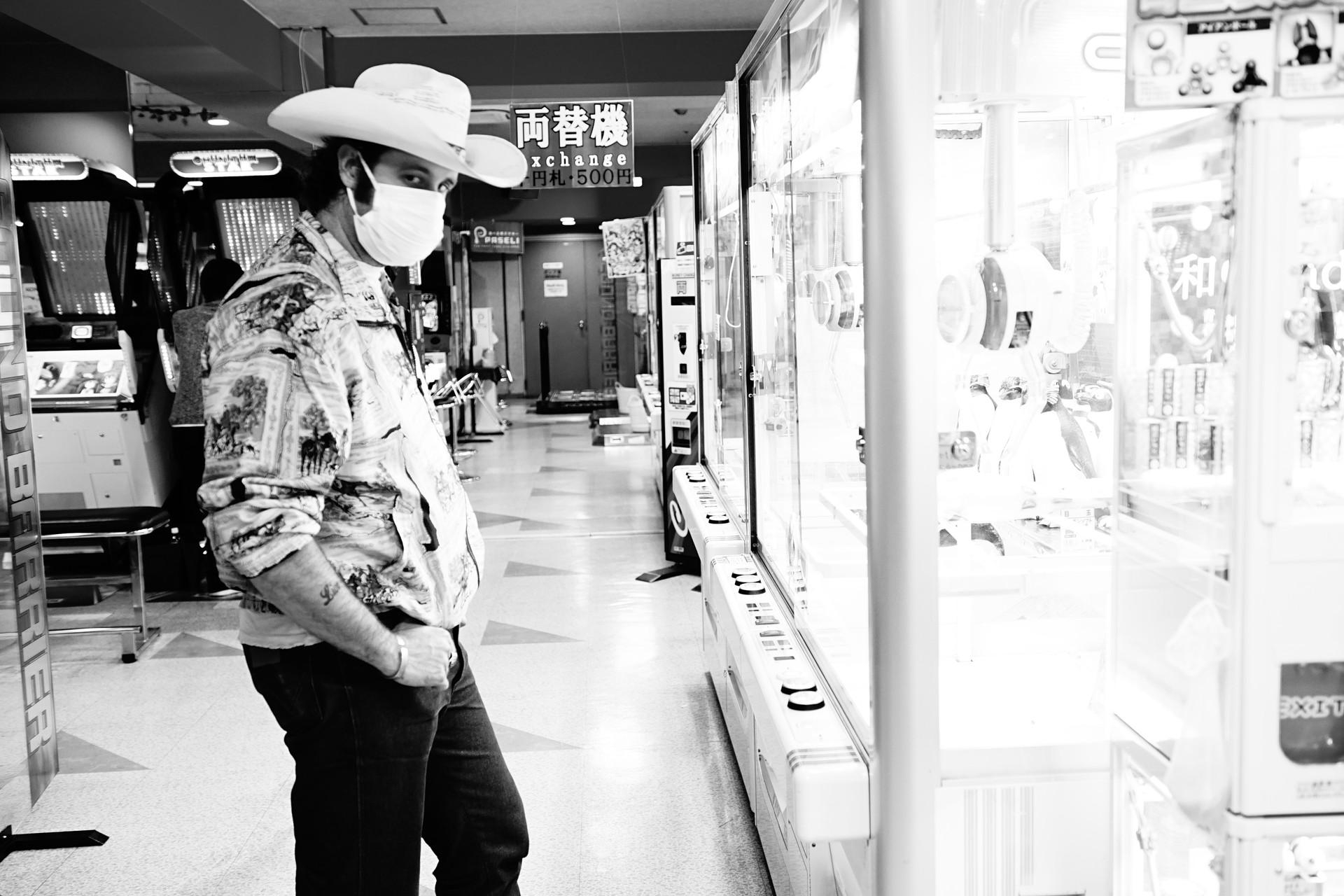 Corey in the Arcade