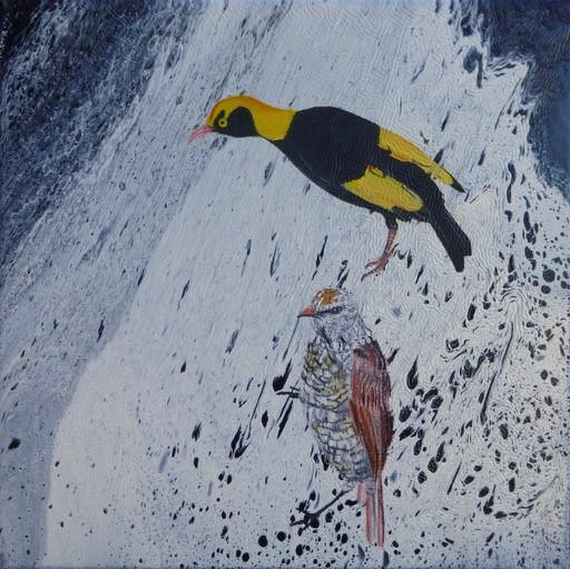 Regent bowerbirds