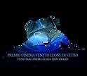 LOGO PREMIO CINEMA VENETO LEONE DI VETRO