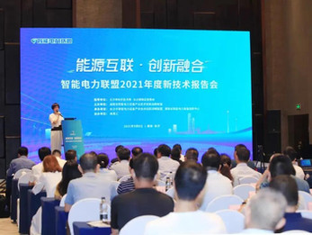 2021 New technology report meeting of the Smart Power Alliance was successfully held!