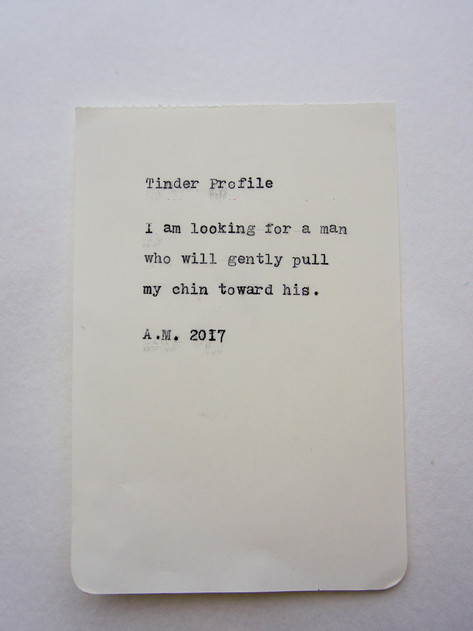 #5 - Tinder Profile