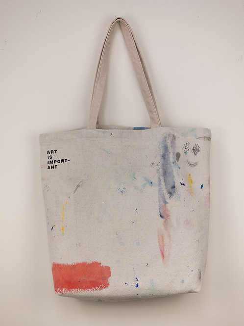 """Dropsheet Tote #3 - """"Gang's All Here"""""""