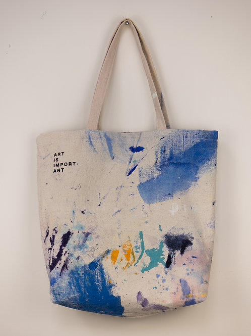 """Dropsheet Tote #11 - """"Stay The Night"""""""