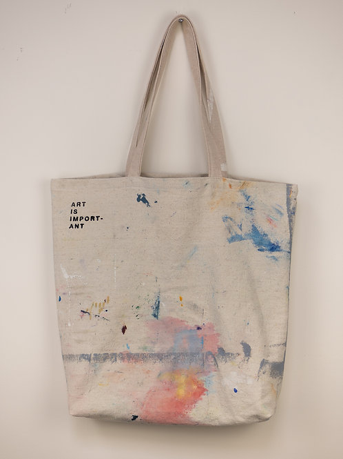 """Dropsheet Tote #5 - """"Out The Window, Rushing By"""""""