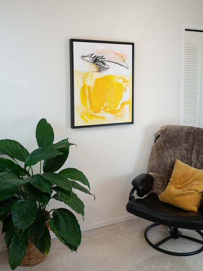 Frame for canvases up to 24 x 36