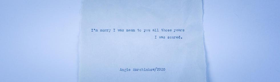 No. 25 - I'm Sorry