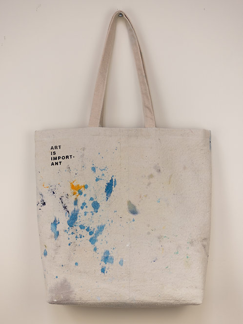 """Dropsheet Tote #9 - """"What If We Jumped?"""""""