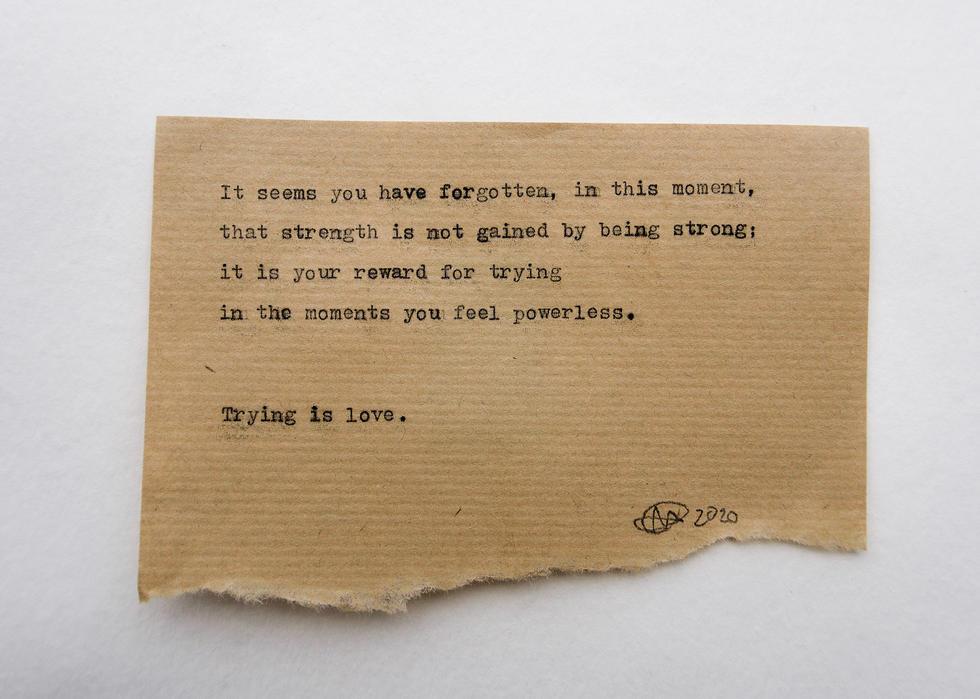 No. 6 - Strength