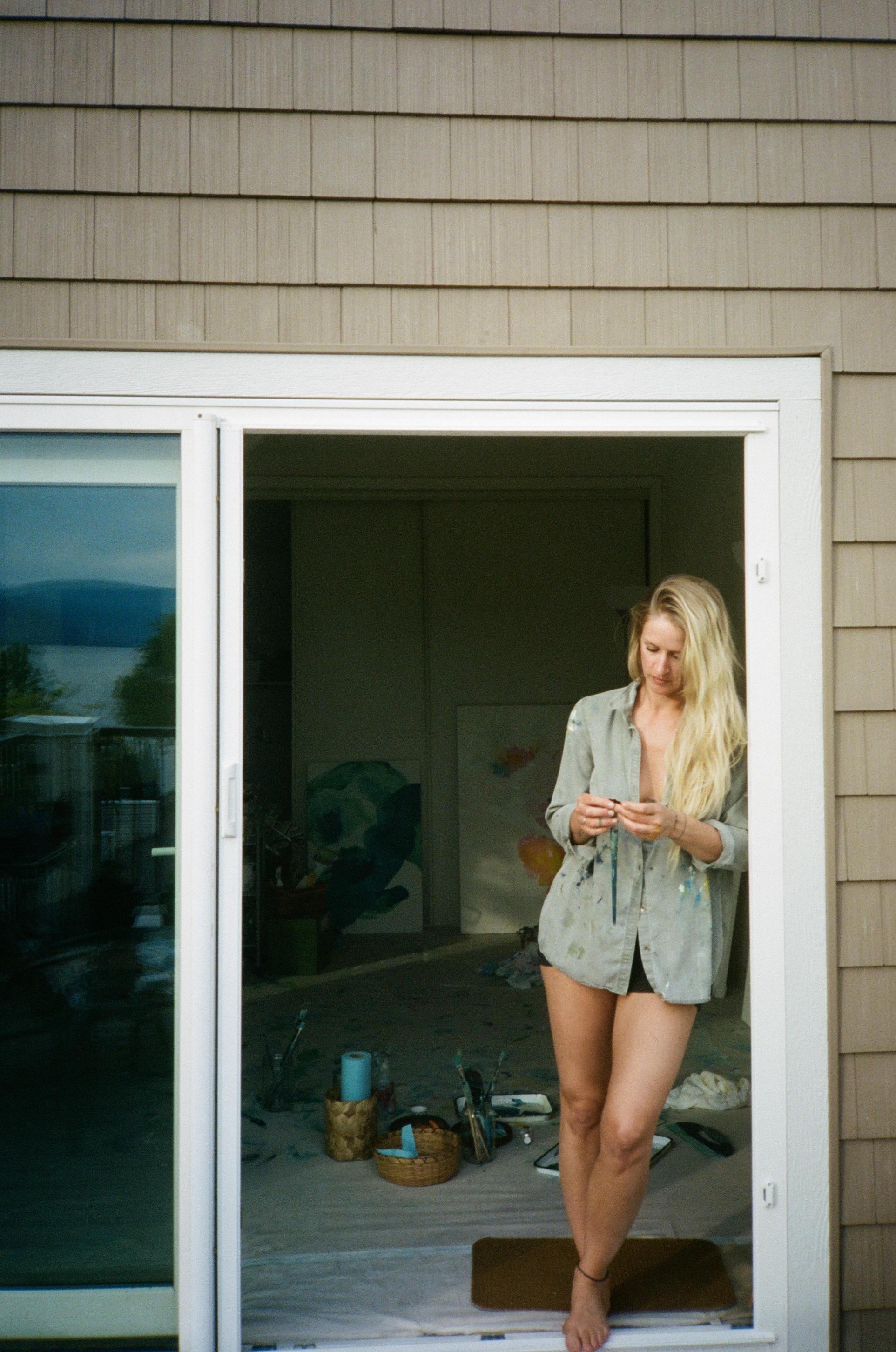 Angie Marchinkow Art-Trina Cary Photography-door