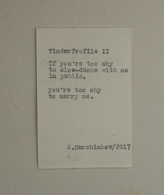 #53 - Tinder Profile II