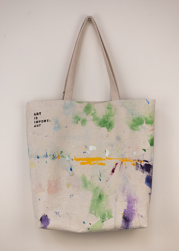 angie marchinkow canvas dropsheet tote bag