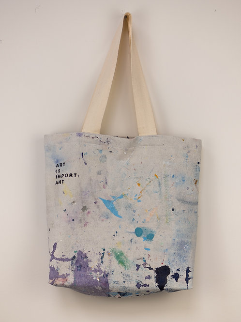 """Dropsheet Tote #22- """"The Essential Wildness of Artemis"""""""