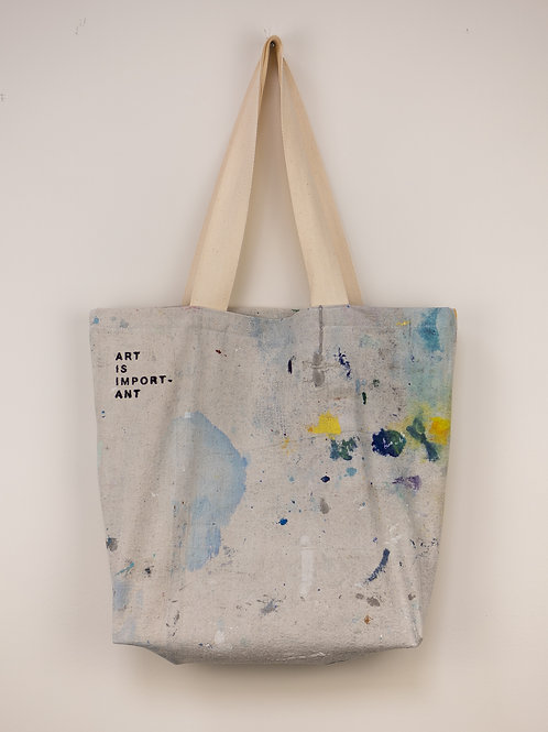 """Dropsheet Tote #21- """"Drowning With Ease"""""""