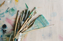 Angie Marchinkow Art-Trina Cary Photography-brushes