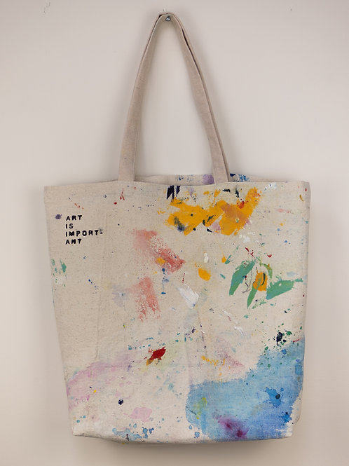 """Dropsheet Tote #13 - """"Brightly, With Vigour"""""""