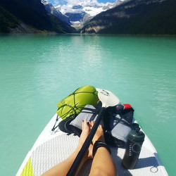 Angie Marchinkow-SUP Lake Louise