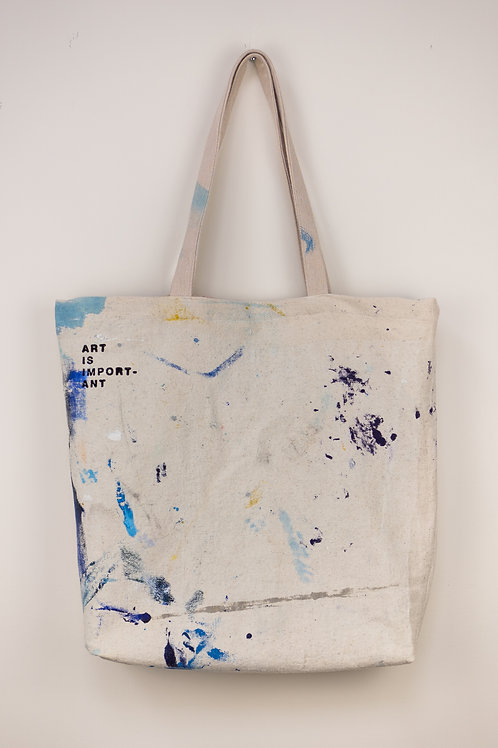 """Dropsheet Tote #1 - """"Our Morning Coffee"""""""