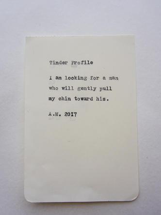 No. 5 - Tinder Profile