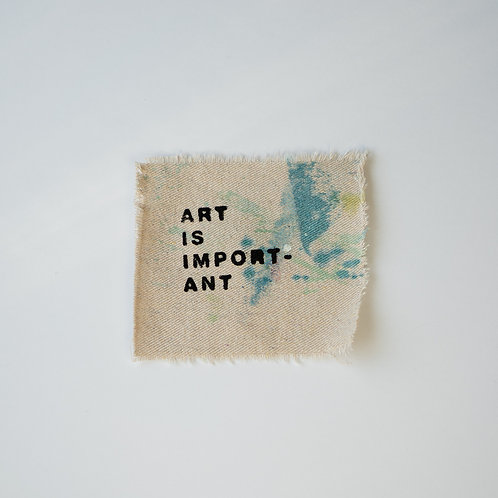 Sew-On Patch - #17