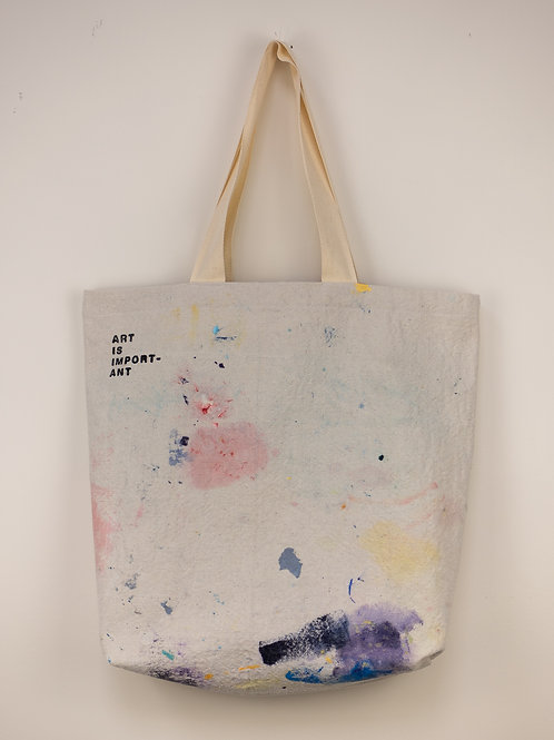 """Dropsheet Tote #6 - """"Gnocchi and Sage Butter"""""""