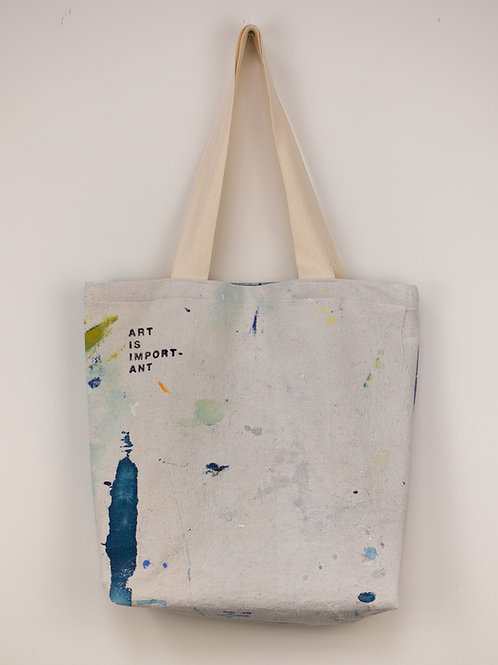 """Dropsheet Tote #18- """"Chronicled By Typewriter"""""""