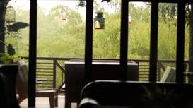 Sala tv y sala exterior