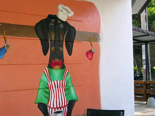 Dachshund Coffee: el único café santiaguino con menú para mascotas