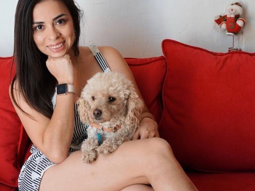 """Mónica Flores: """"No quiero que ningún otro perro pase por lo que pasó el amor de mi vida"""""""