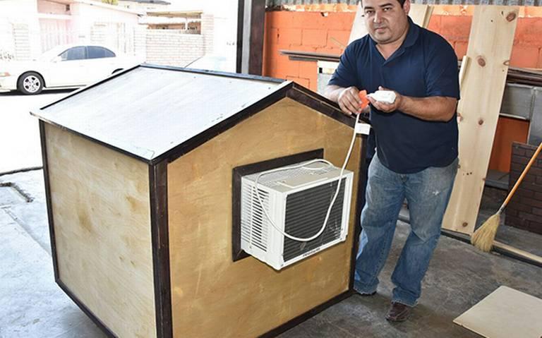 Casas refrigeradas para mascotas