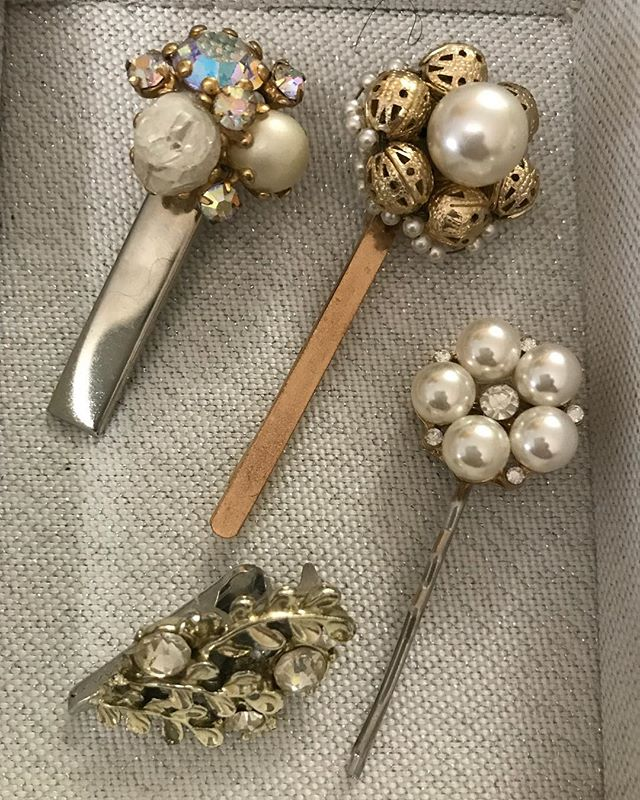 Vintage Hair Clips