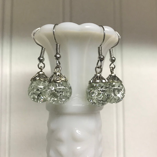 Light Green Earrings