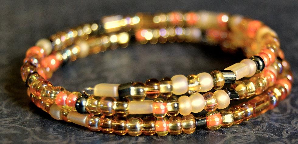 Autumn Beaded Bracelet