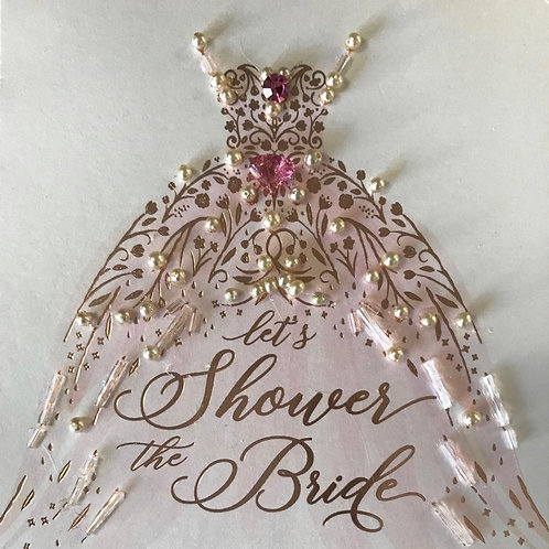 Embellished Bridal and Shower Invitations