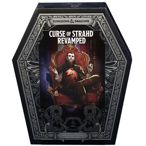 D&D 5E RPG: Curse of Strahd Revamped