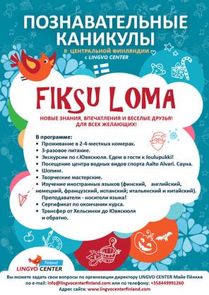 Познавательные каникулы в  Центральной Финляндии