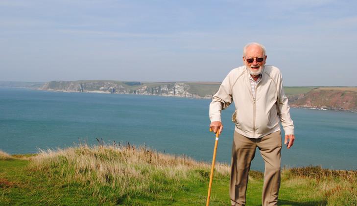 George visiting Devon 2013