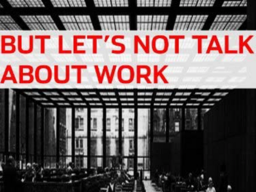 But Let's Not Talk About Work - Short Film Review