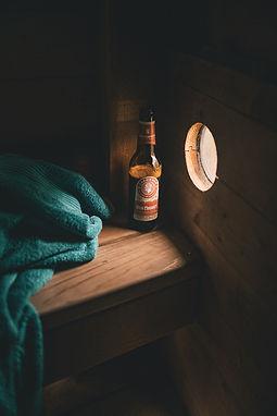 Millinge Klint Carlsberg jacobsen Øl shelterplads sauna Shelter fyn overnatning shelter sauna