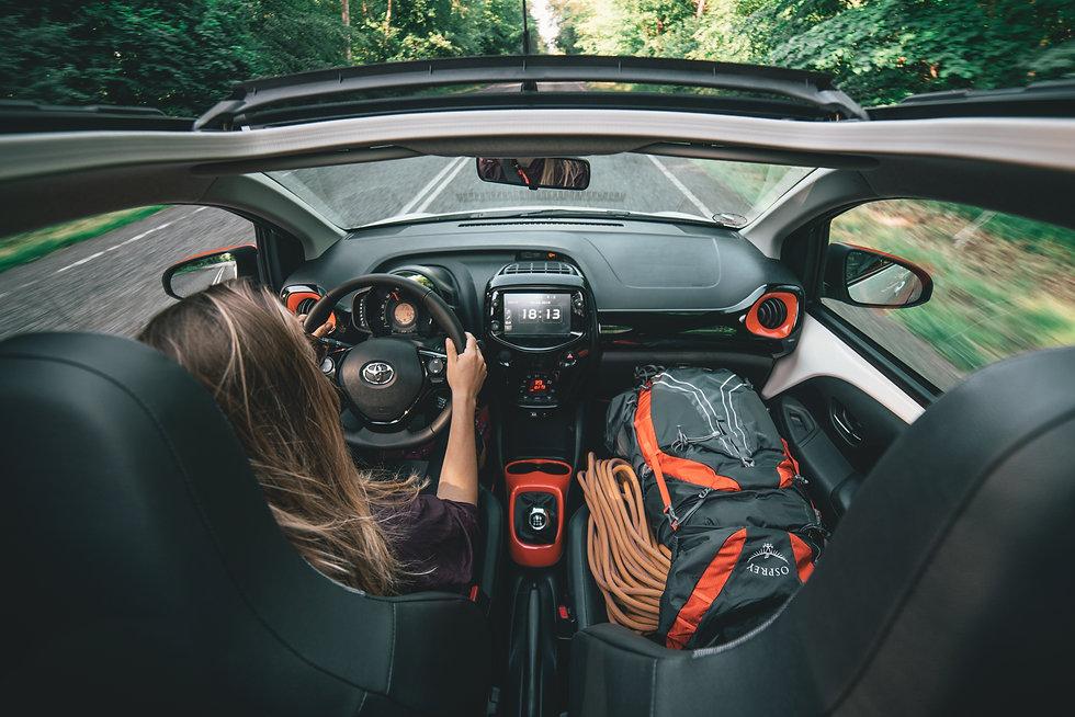 Toyota Aygo cabriolet danmark sommer